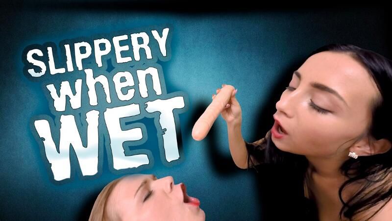 Slippery When Wet feat. Alexis Crystal, Anna Rose - VR Porn Video