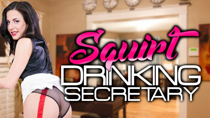 Squirt Drinking Secretary feat. Lola Ver - VR Porn Video