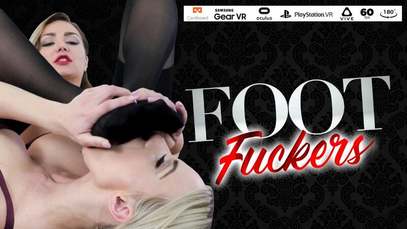 Foot Fuckers feat. Nathaly Cherie, Victoria Puppy - VR Porn Video