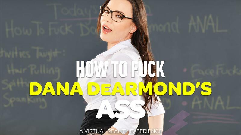 How To Fuck Dana DeArmonds Ass feat. Dana DeArmond, Dylan Snow - VR Porn Video