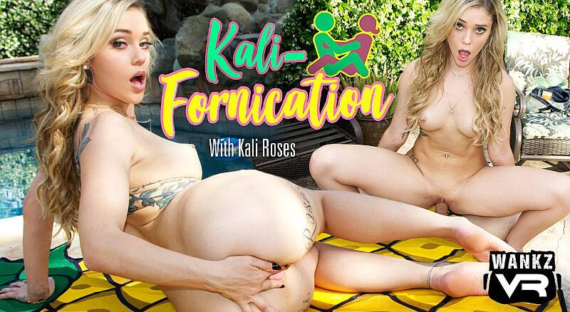 Kali-Fornication feat. Kali Roses - VR Porn Video
