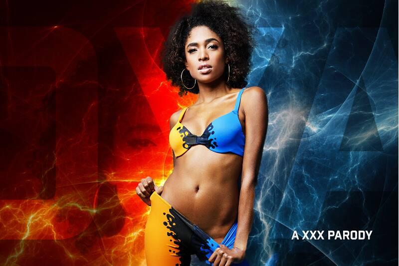 Oya A XXX Parody feat. Luna Corazon - VR Porn Video