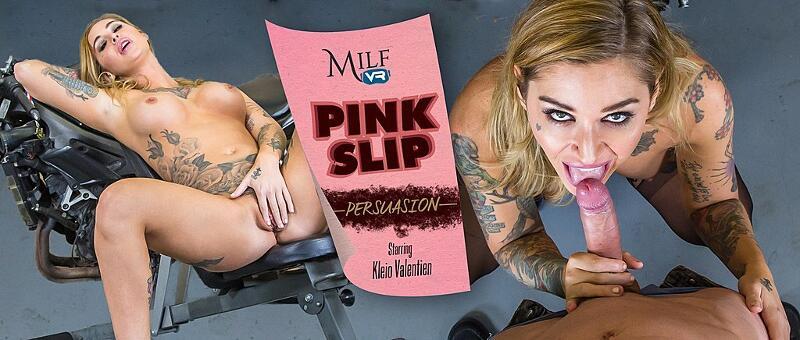 Pink Slip Persuasion feat. Kleio Valentien - VR Porn Video