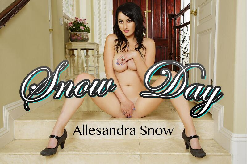 Snow Day feat. Allesandra Snow - VR Porn Video
