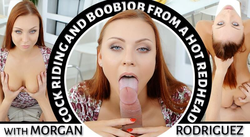 Cock Riding and Boojob feat. Morgan Rodriguez - VR Porn Video