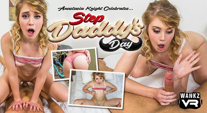 Step Daddy's Day feat. Anastasia Knight - VR Porn Video
