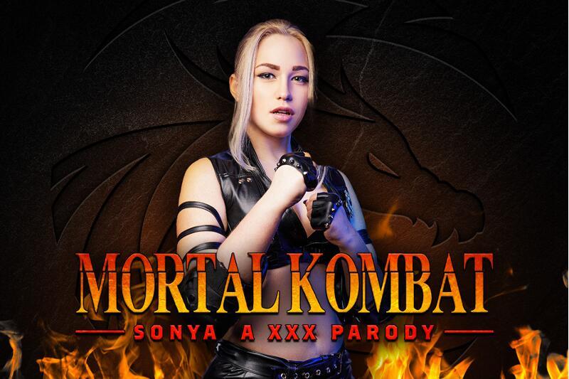 Mortal Kombat: Sonya A XXX Parody feat. Selvaggia Babe - VR Porn Video