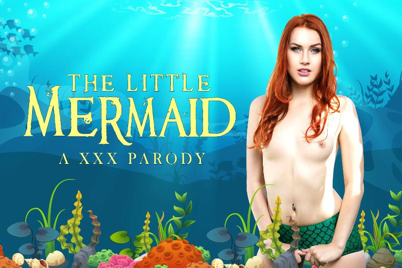 The Little Mermaid A XXX Parody feat. Charlie Red - VR Porn Video