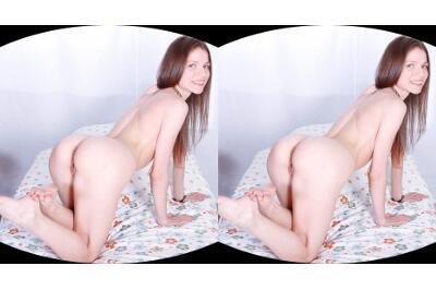 Masturbation Fantasy in a Girl's Dorm - Nelya - VR Porn - Image 15