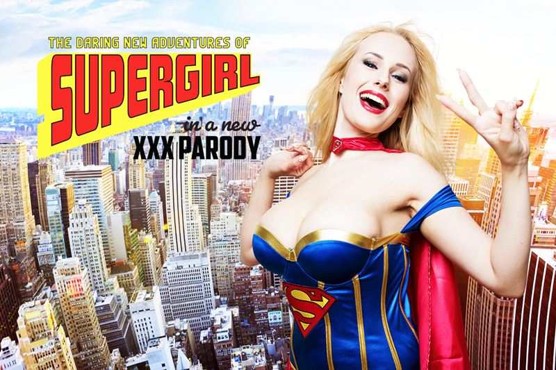 Supergirl A XXX Parody feat. Angel Wicky - VR Porn Video