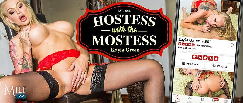 Hostess with the Mostess feat. Kayla Green - VR Porn Video