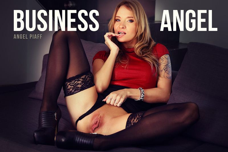 Business Angel feat. Angel Piaff - VR Porn Video