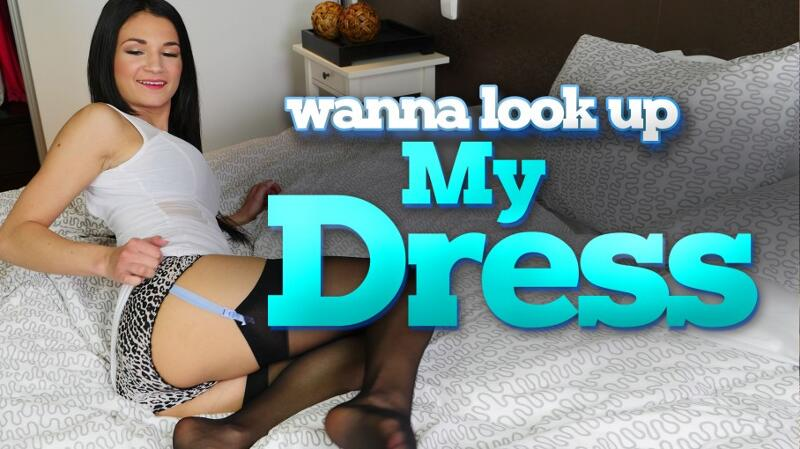 Wanna Look Up My Dress? feat. Rosaline Rosa - VR Porn Video