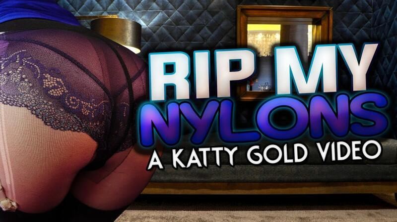 Rip My Nylons feat. Katy Gold - VR Porn Video
