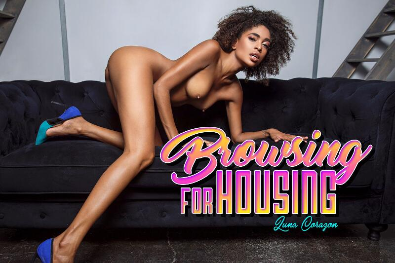 Browsing For Housing feat. Luna Corazon - VR Porn Video