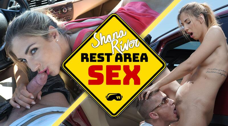 Rest Area Sex feat. Shona River - VR Porn Video