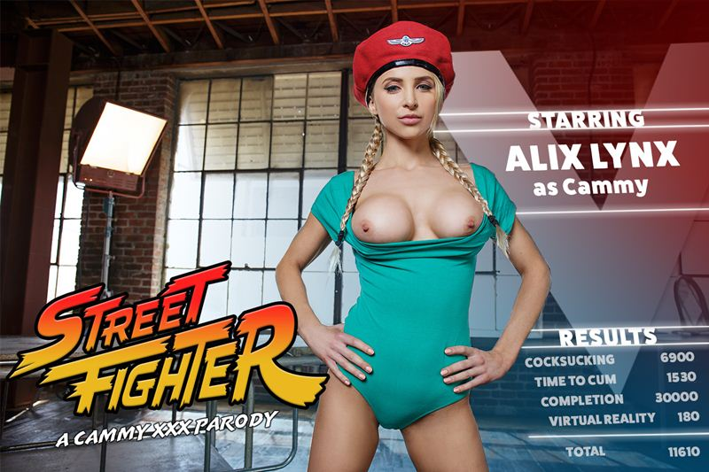 Street Fighter: A Cammy XXX Parody feat. Alix Lynx - VR Porn Video