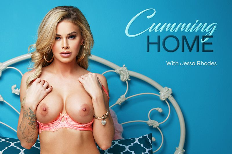 Cumming Home feat. Jessa Rhodes - VR Porn Video