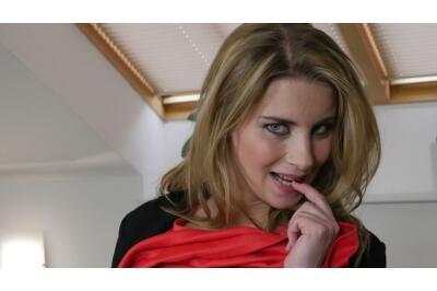Pregnant Secretary In Pantyhose - Kathy Kozy - VR Porn - Image 23