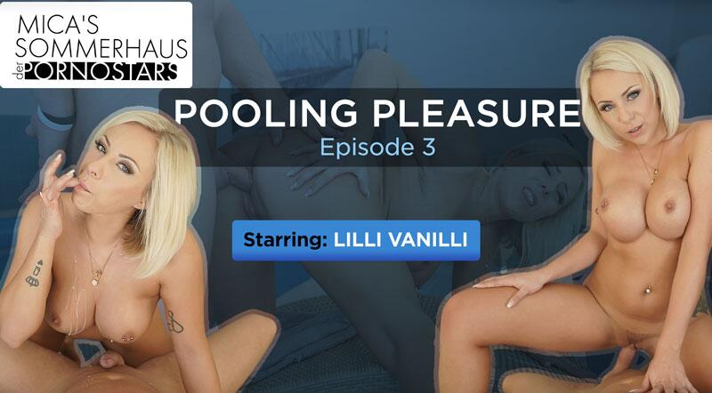 Pooling Pleasure feat. Lilli Vanilli - VR Porn Video