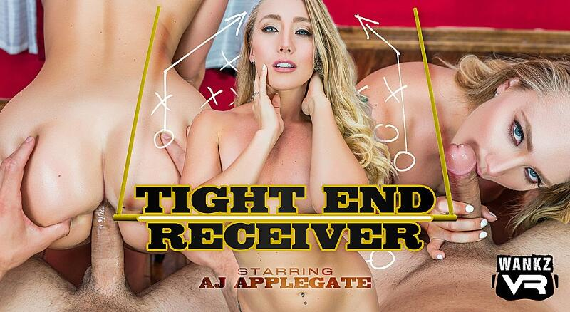 Tight End Receiver feat. AJ Applegate - VR Porn Video