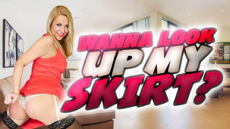 Wanna Look Up My Skirt? feat. Nikky Dream - VR Porn Video