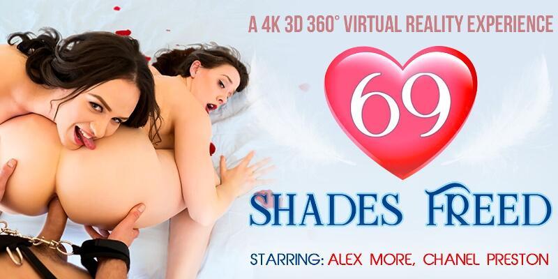 69 Shades Freed feat. Alex More, Chanel Preston - VR Porn Video
