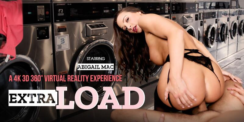 Extra Load feat. Abigail Mac - VR Porn Video