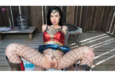 Wonder Woman (A XXX Parody) - Marley Brinx - VR Porn - Image 57