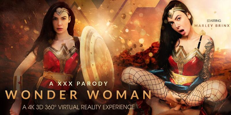 Wonder Woman (A XXX Parody) feat. Marley Brinx - VR Porn Video