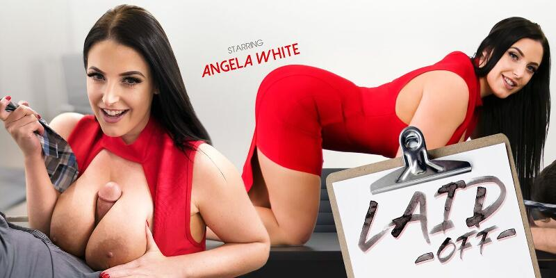 Laid Off feat. Angela White - VR Porn Video