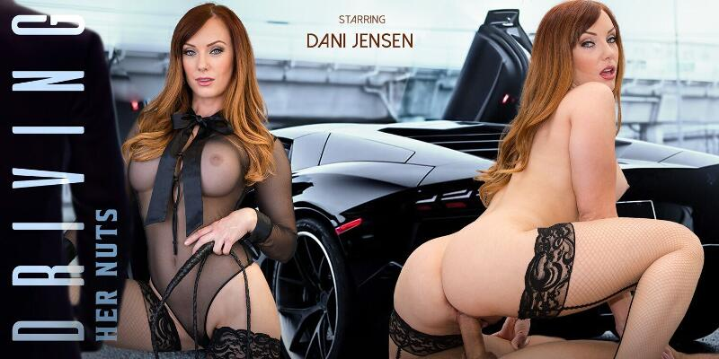 Driving Her Nuts feat. Dani Jensen - VR Porn Video