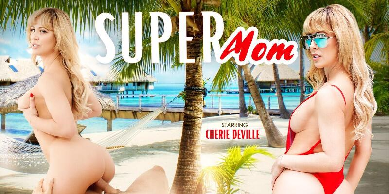 Super Mom feat. Cherie DeVille - VR Porn Video