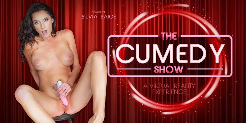 The Cumedy Show feat. Silvia Saige - VR Porn Video