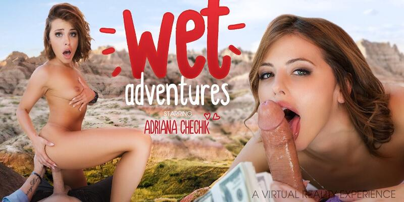 Wet Adventures feat. Adriana Chechik - VR Porn Video