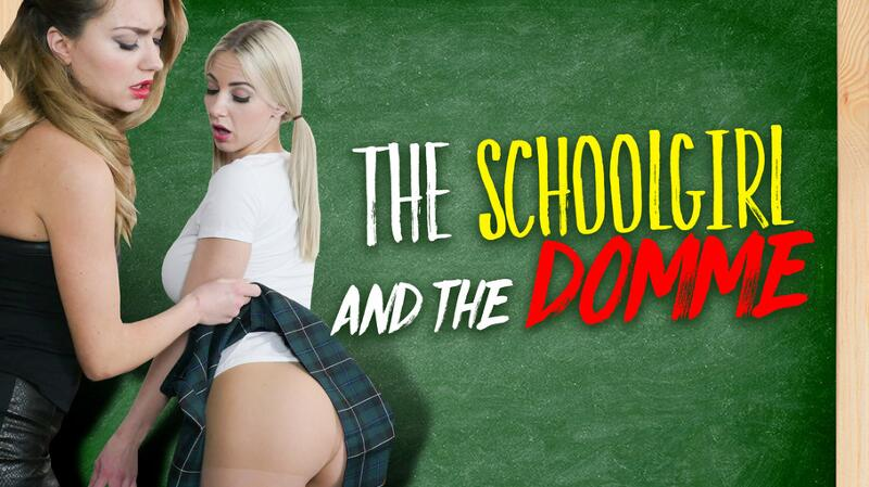 The Schoolgirl and The Domme feat. Nathaly Cherie, Victoria Puppy - VR Porn Video
