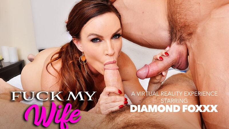 Fuck My Wife feat. Diamond Foxxx, Chad White, Johnny Castle - VR Porn Video