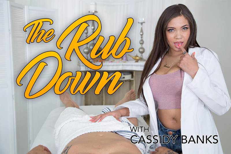 The Rub Down feat. Cassidy Banks - VR Porn Video