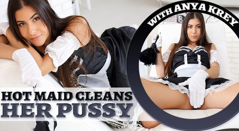 Hot Maid Cleans Her Pussy feat. Anya Krey - VR Porn Video