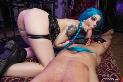 LOL: Jinx XXX Parody - Alessa Savage - VR Porn - Image 35