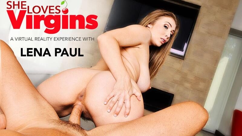 She Loves Virgins feat. Lena Paul, Ryan Driller - VR Porn Video