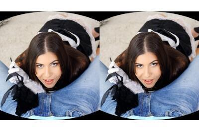 Hard Dick Annihilates the Hot Maid - Anya Krey - VR Porn - Image 2