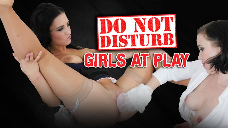 Do Not Disturb, Girls at Play feat. Ally Style, Asdis Loren - VR Porn Video