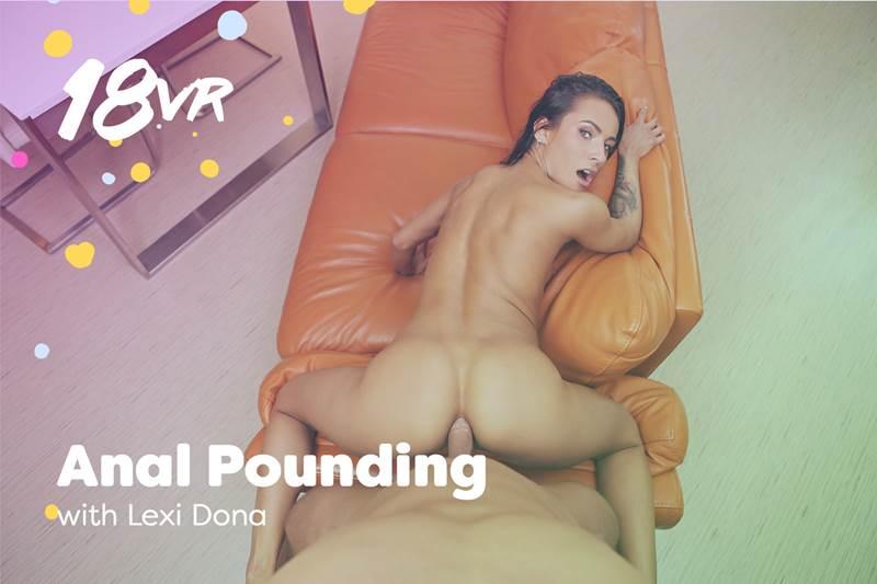 Anal Pounding feat. Lexi Dona - VR Porn Video