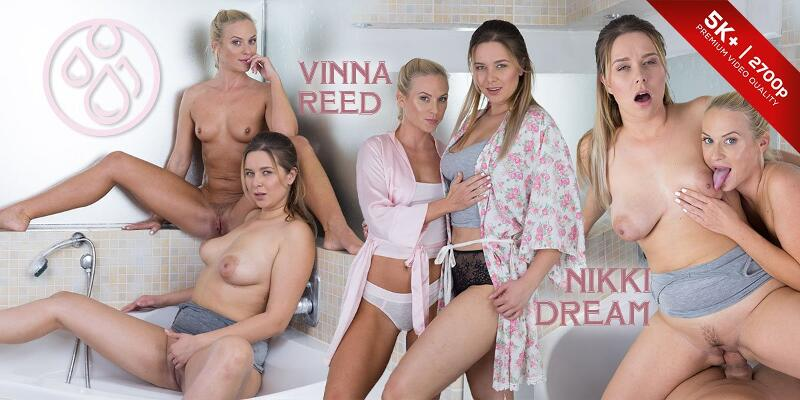 Pissing Heaven feat. Nikky Dream, Vinna Reed - VR Porn Video