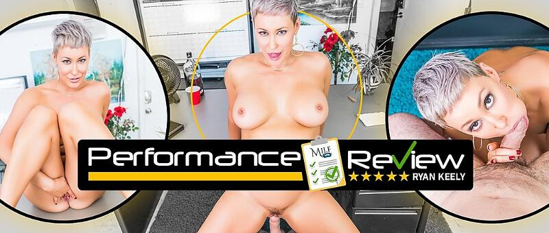 Performance Review feat. Ryan Keely - VR Porn Video