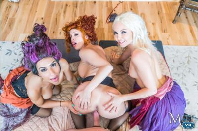 Hocus Poke-Us - Tia Cyrus, Aaliyah Love, Britney Amber - VR Porn - Image 6