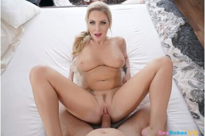 Cum Covered Tits - Georgie Lyall - VR Porn - Image 48