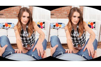 Sweetie Takes Dick Into Her Own Hands - Adelle - VR Porn - Image 22