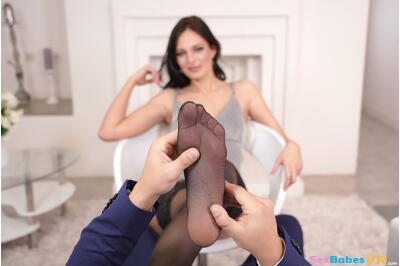 First Foot Fuck - Leanne Lace - VR Porn - Image 88